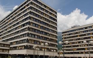 Geiwi-Turm und Bruno-Sander-Haus
