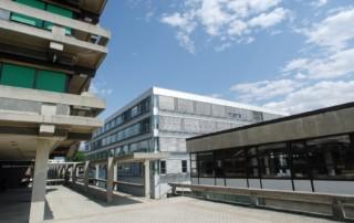 Technik-Gebäude Uni Innsbruck