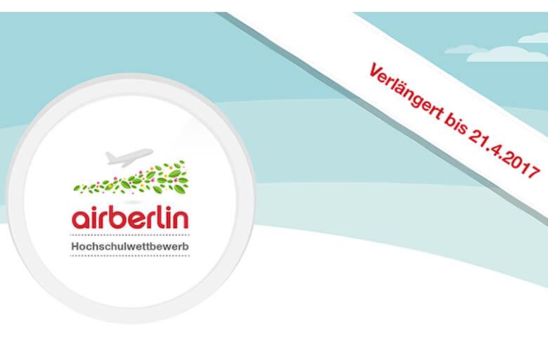 airberlin Hochschulwettbewerb