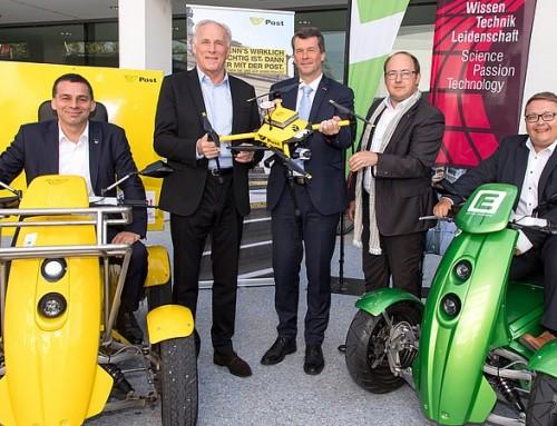 """Post AG und TU Graz erproben autonome Transportlogistik auf der """"letzten Meile"""""""