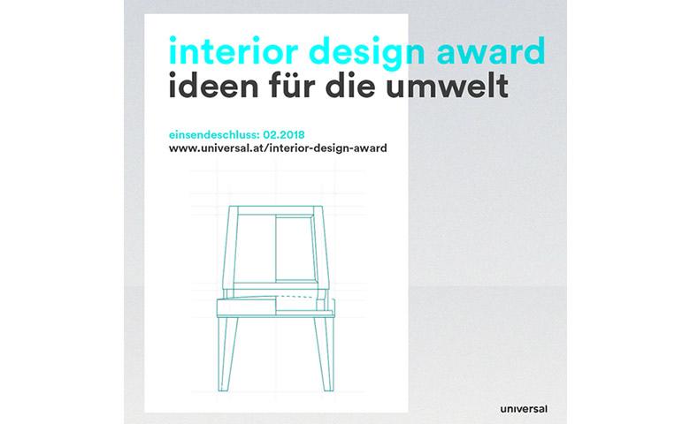 Universal interior design award kreativ werden f r die for Interior design studieren