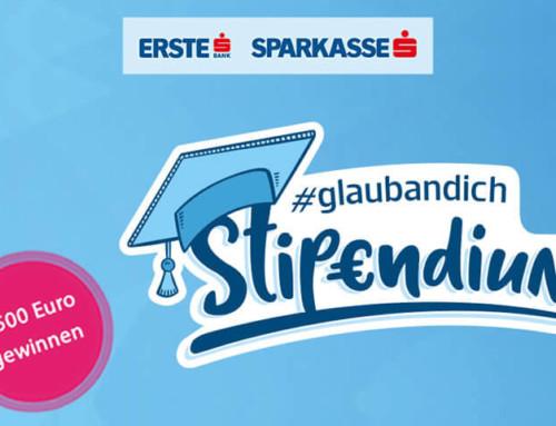 Gewinn ein #glaubandich-Stipendium im Wert von 3.500 Euro