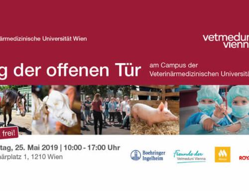 Forschen, ausprobieren, entdecken! – 25. Mai 2019 ist Tag der offenen Tür der Vetmeduni Vienna